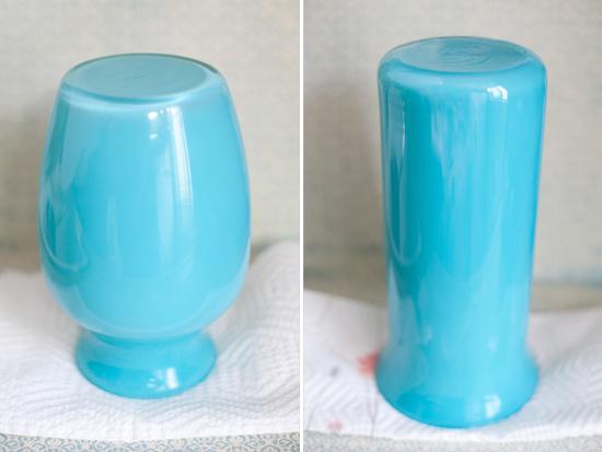 Pintura em Vidro Simples técnica para pintar potes e vasos de vidro