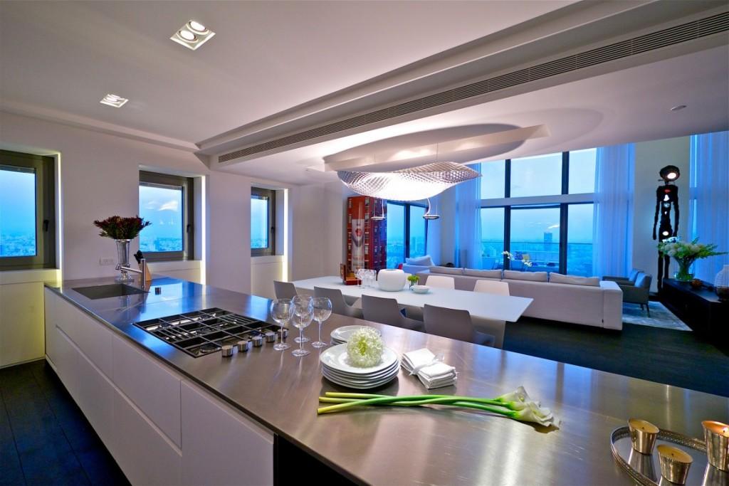 cozinha-decorada-cobertura-triplex-em-tel-aviv-israel