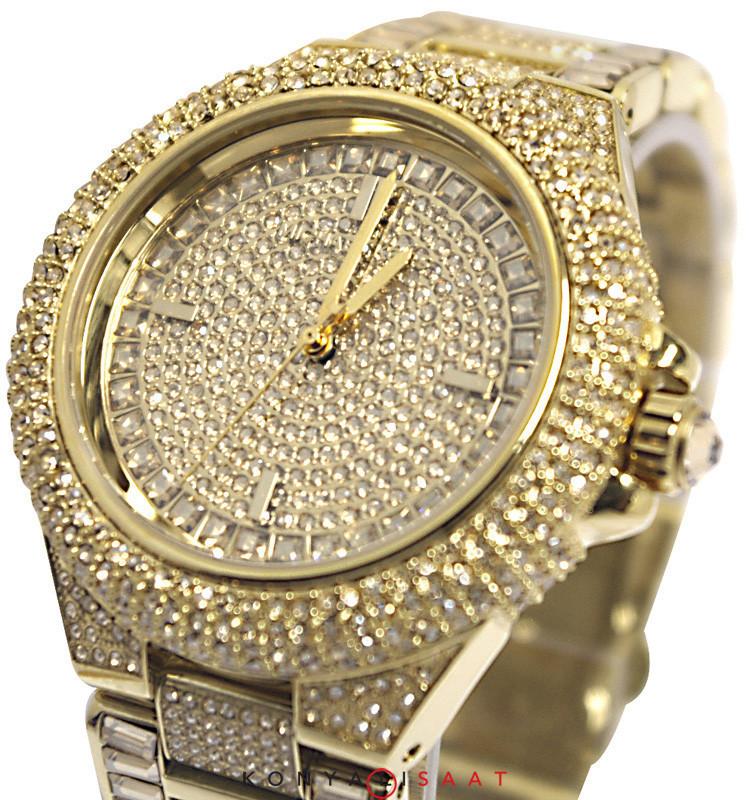 d1c94e6479e14 Relógio Michael Kors MK5720 por Camille Crystal Encrusted. relogio-michael- kors-com-aplicacao-de-cristais