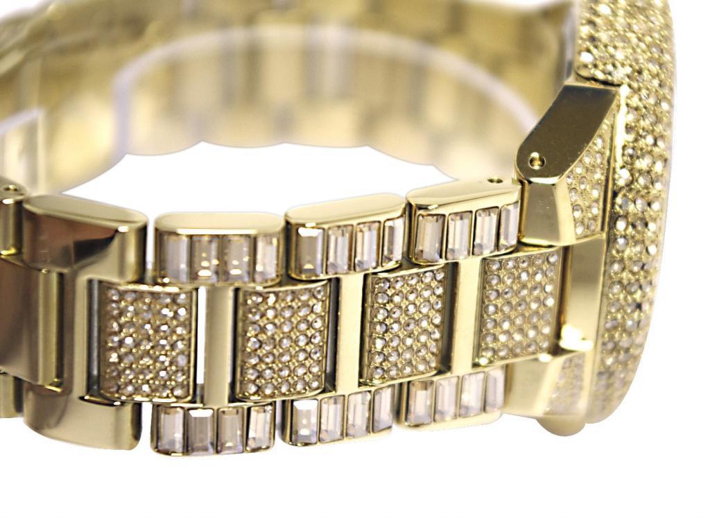 7fe3d3596f1b7 Relógio Michael Kors MK5720 por Camille Crystal Encrusted. relogio-michael- kors-com-aplique-de-cristais