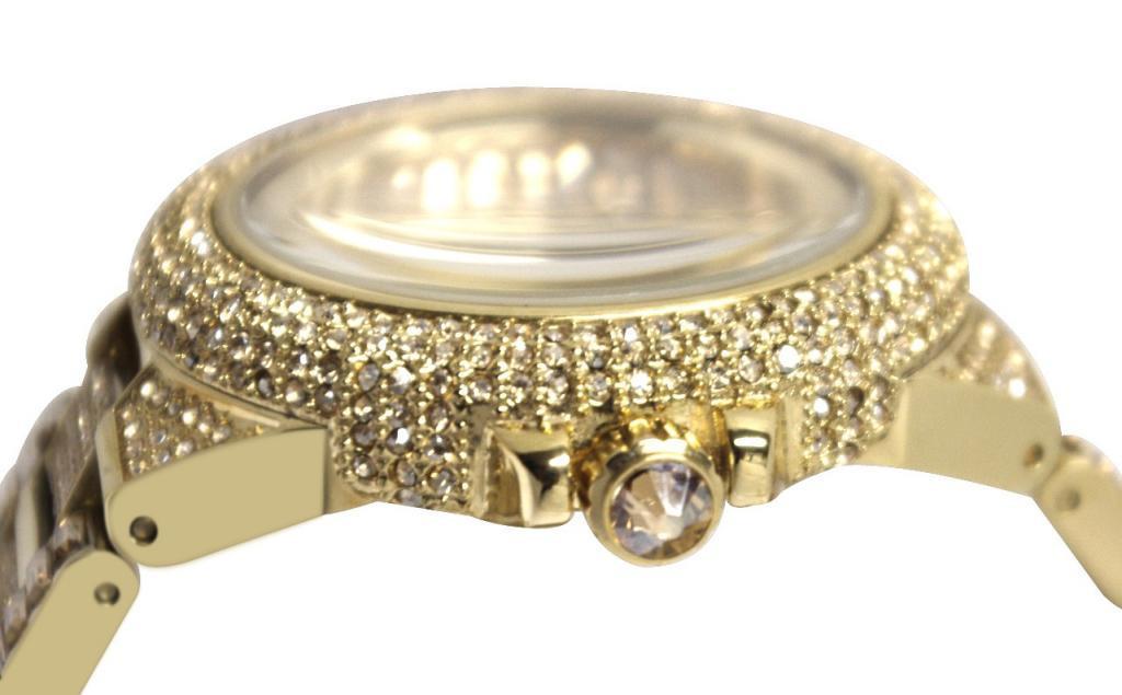7f183c5c6e773 Relógio Michael Kors MK5720 por Camille Crystal Encrusted. relogio-michael- kors-customizado-com-cristais