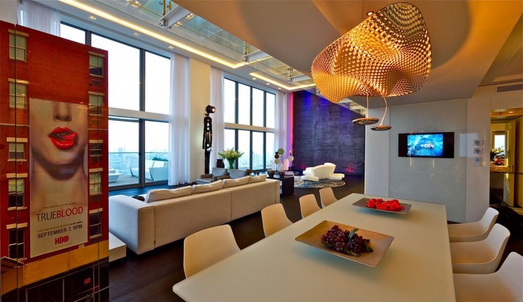 sala-de-jantar-decoracao-cobertura-triplex-em-tel-aviv-israel
