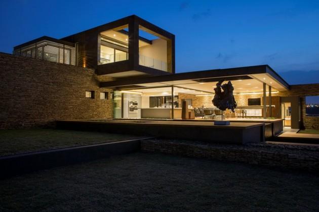 arquitetura-moderna-fachada-de-vidro-casa-em-pretoria-africa-do-sul