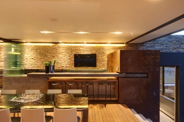 decoracao-sala-de-jantar-casa-em-pretoria-africa-do-sul
