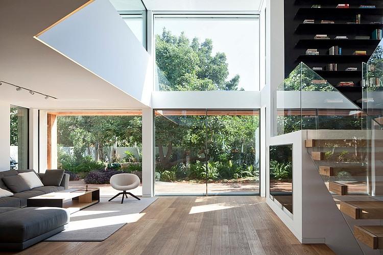 Arquitetura de interiores clean e minimalista por gerstner Casas estilo minimalista interiores